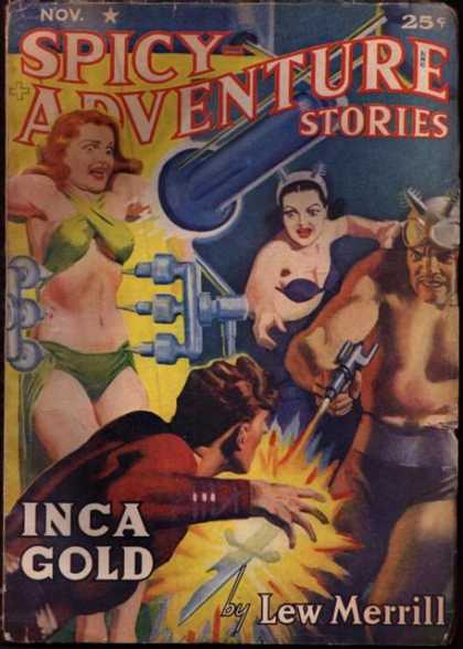 Spicy Adventure Stories 74