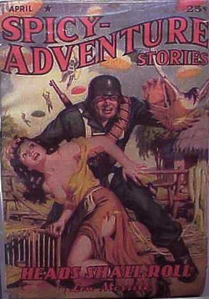 Spicy Adventure Stories 76