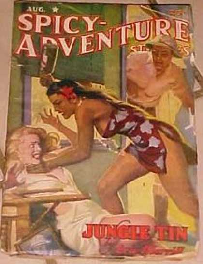 Spicy Adventure Stories 79