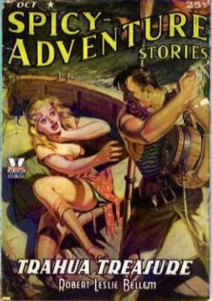 Spicy Adventure Stories 81
