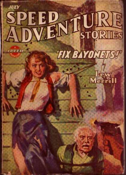 Spicy Adventure Stories 87