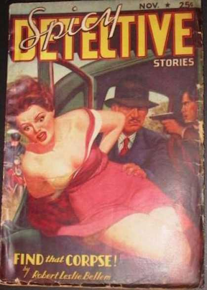 Spicy Detective Stories 33