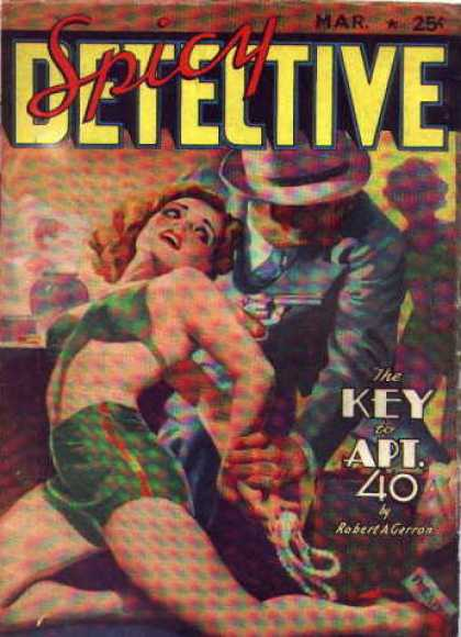 Spicy Detective Stories 38