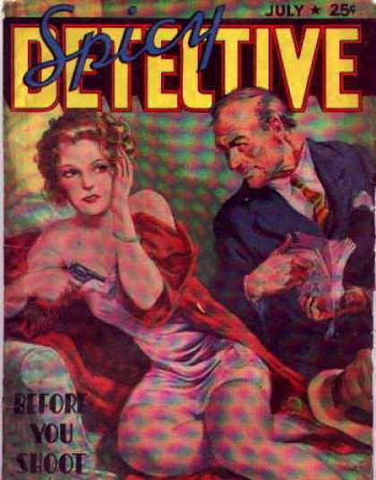 Spicy Detective Stories 40