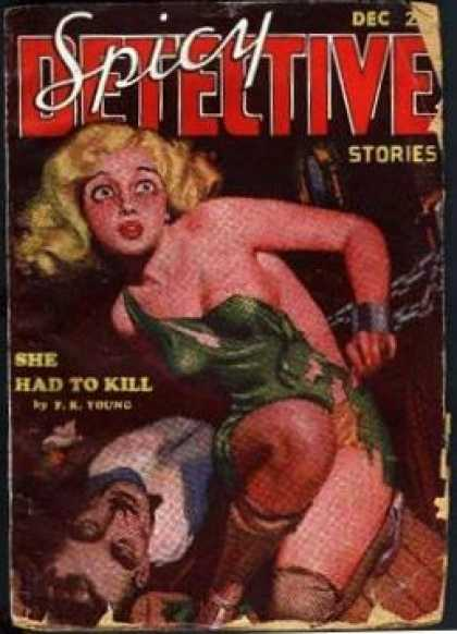 Spicy Detective Stories 8