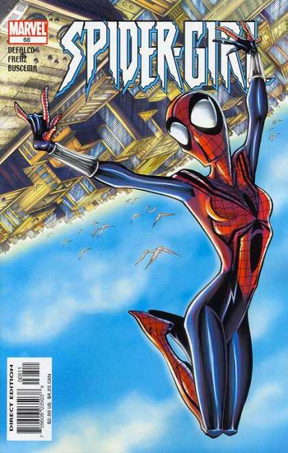 Spider-Girl 68 - Marvel - Marvel Comics - City View - Spidergirl - Sky