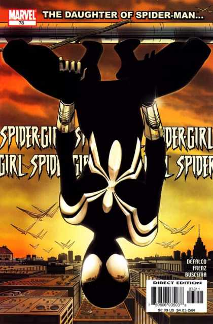 Spider-Girl 78 - The Daughter Of Spider-man - Marvel - Defalco - Frenz - Buscema