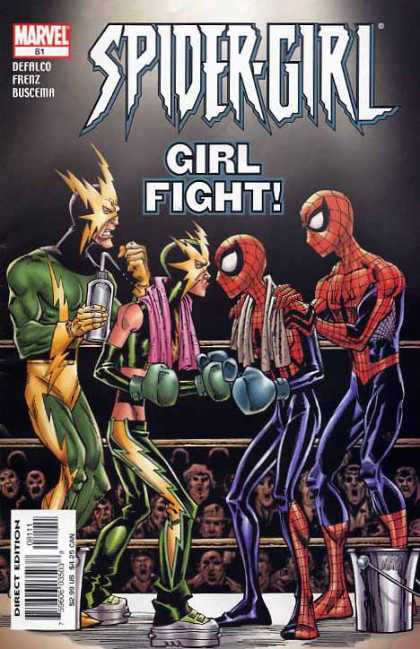 Spider-Girl 81 - Cat Scratch Fever - Skinny Vs Slim - Web Lightening Females - Lip Stick Fight - Ugly And The Web Girl