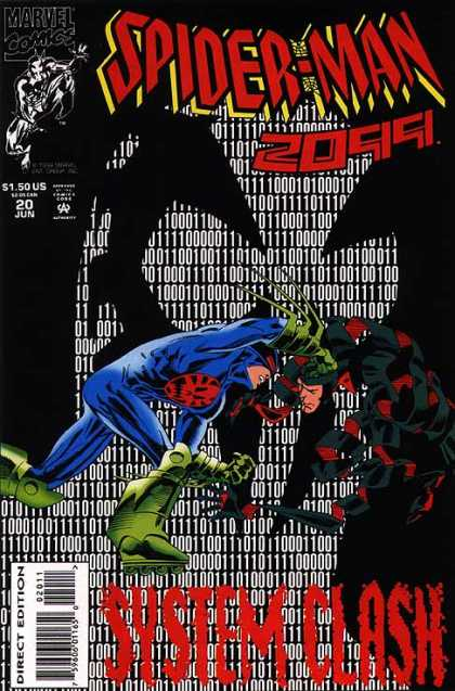 Spider-Man 2099 20 - Marvel Comics - Numbers - Data - System Clash - Battle - Al Williamson, Rick Leonardi