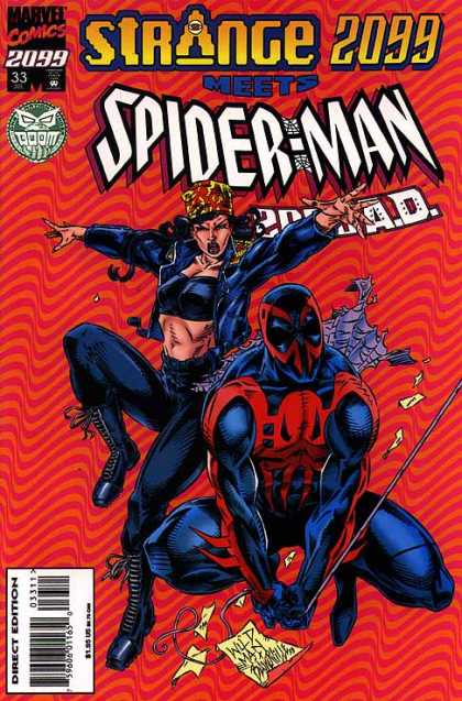 Spider-Man 2099 33 - Spiderman - Strange 2099 - Marvel Comics - 33 - Wild Man