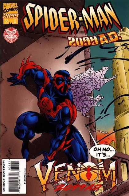Spider-Man 2099 38 - Future - Peril - Adventure - Danger - Deadly
