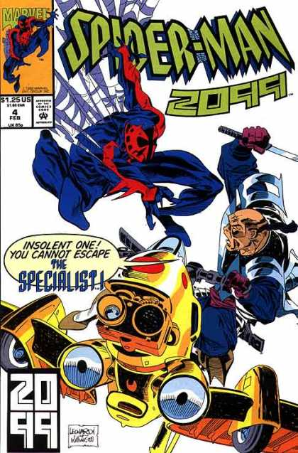 Spider-Man 2099 4 - Spiderman - Marvel - Marvel Comics - Specialist 1 - 4 Feb - Al Williamson, Rick Leonardi