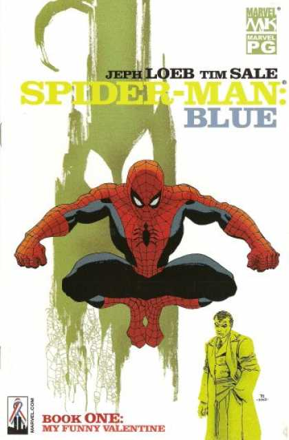 Spider-Man: Blue 1 - Spider-man Blue - Marvel Comics - Jeph Loeb - Tim Sale - Book One My Funny Valentine - Tim Sale