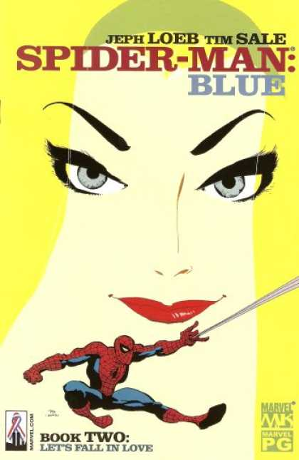 Spider-Man: Blue 2 - Yellow - Blue - Eyes - Woman - Spider-man - Tim Sale