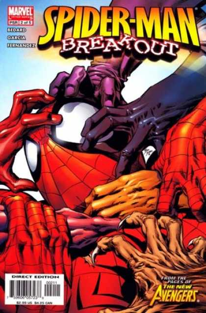 Spider-Man: Breakout 2 - Hands - Colors - Grabbing - Fingers - Claws - Deodato Fiho