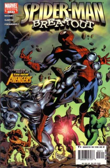Spider-Man: Breakout 3 - Marvel - Costume - Monster - Battle - Superhero - Deodato Fiho