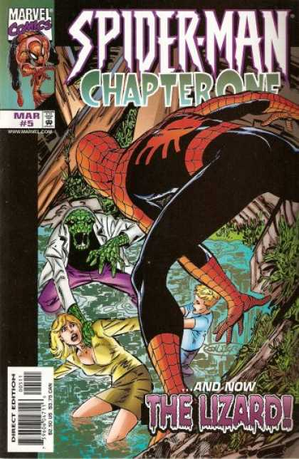 Spider-Man: Chapter One 5 - Marvel Comics - Mar 5 - The Lizard - Woman - Direct Edition - John Byrne