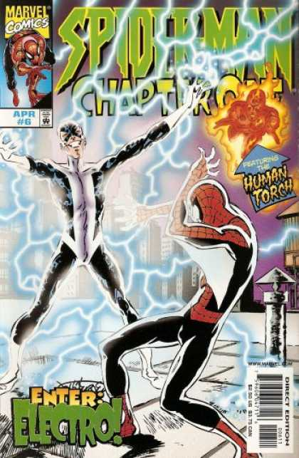 Spider-Man: Chapter One 6 - 6 - Electricity - Human Torch - April - Electro - John Byrne