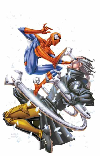 Spider-Man: Doctor Octopus Out Of Reach 2 - Robotic Hands - Spiderman - Doctor - Boots - White Hair