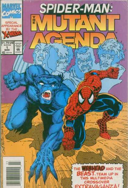 Spider-Man: Mutant Agenda 1 - Spiderman - Special Appearance By X-men - The Webhead And The Beast - Team Up In The Multimedia Crossover Estravaganza - Marvelcomics