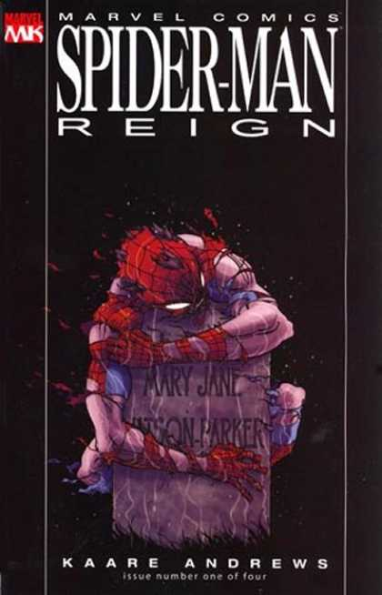Spider-Man: Reign 1 - Suepr Comics - Mary Jane - Kaare Andrews - Issue Number One Of Four - Marvel
