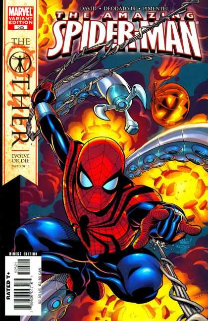 Spider-Man: The Other (Collection) 3 - Web - The Ther - Evolve Or Die - Explosion - Pumpkin