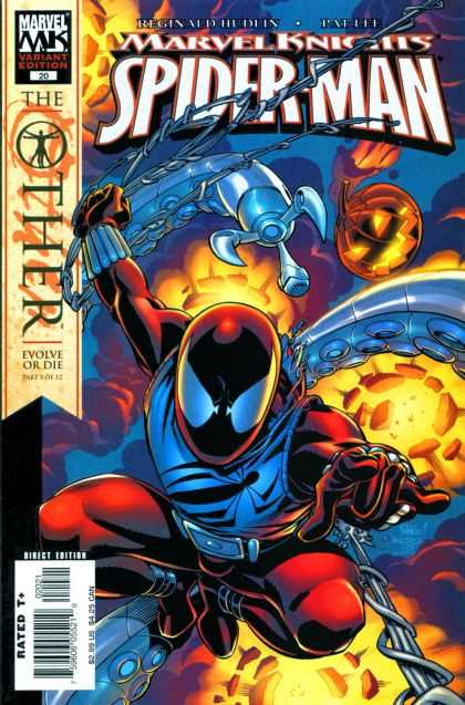 Spider-Man: The Other (Collection) 5 - Marvel - The Other - Evolve Or Die - Marvel Knights - Chain