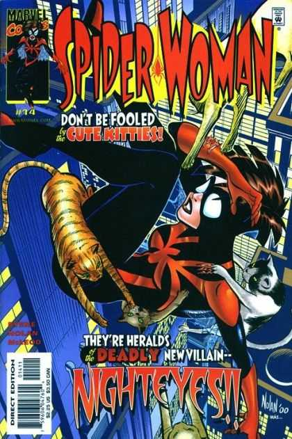 Spider-Woman (1999) 14 - The New Avengers - Marvel Comics - Superheroine - Brian Michael Bendis - Comic Book