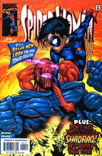 Spider-Woman (1999) 4 - Marvel Comics - Brand-new Look - The Menace Of Shadraq - Byrne Sears - Direct Edition - Bart Sears