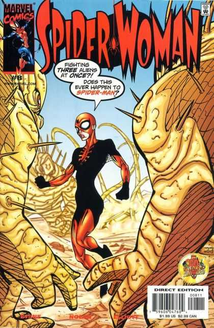 Spider-Woman (1999) 8 - Marvel Comics - 8 - A - Direct Edition - 155us - Bart Sears