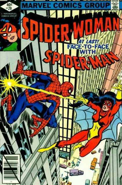 Spider-Woman 20 - Marvel - Comics Code - Costume - Face-to-face - Battle - Frank Springer