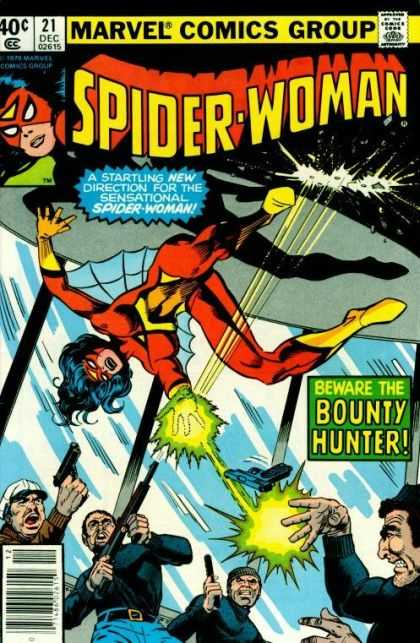 Spider-Woman 21 - Bounty Hunter - 40 Cents - Spider Woman - Guns - Thugs