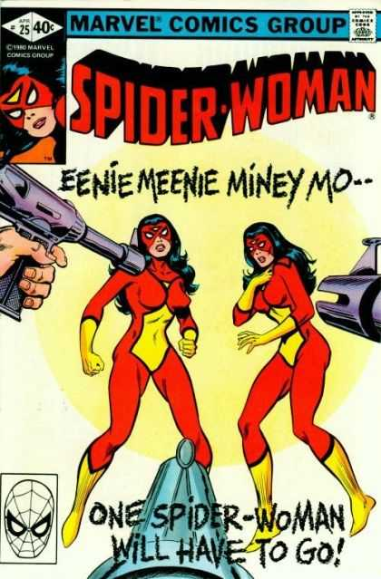 Spider-Woman 25 - Marvel - Eenie - Meenie - Miney - Mo - Jim Mooney
