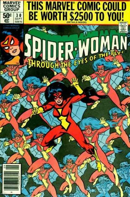 Spider-Woman 30 - Eyes - Marvel - Worth - Vision - Fly