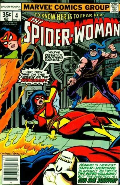 Spider-Woman 4 - Bob Wiacek, Dave Cockrum