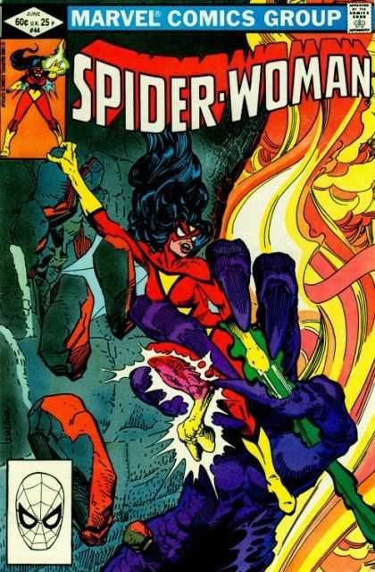 Spider-Woman 44 - Spiderwoman - Marvel - Claw - Explosion - Danger - Steve Leialoha