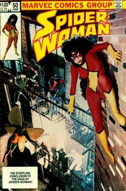 Spider-Woman 50 - Bob Layton