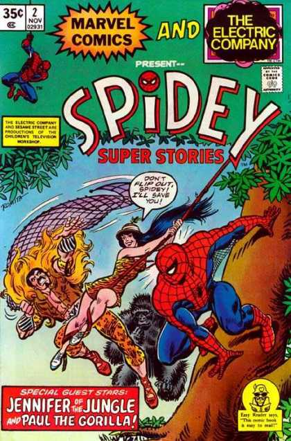 Spidey Super Stories 2 - Net - Peter Parker - Doc Oct - Mary Jane - Red Cap