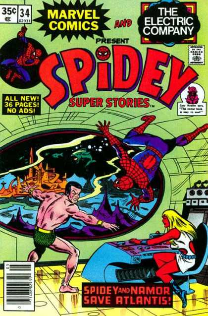 Spidey Super Stories 34