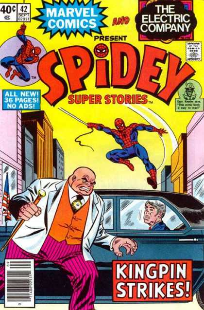 Spidey Super Stories 42 - Super Hero - Mighty Spidey - Spider Buddy - There He Goes - Never Ending Story