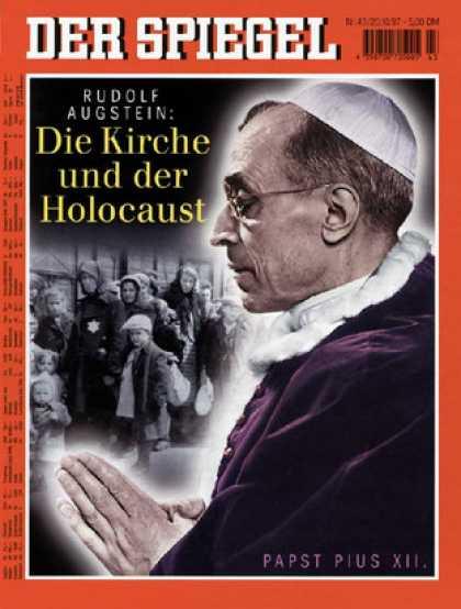 Spiegel - Der SPIEGEL 43/1997 -- Augstein über Papst Pius XII. und den Holocaust