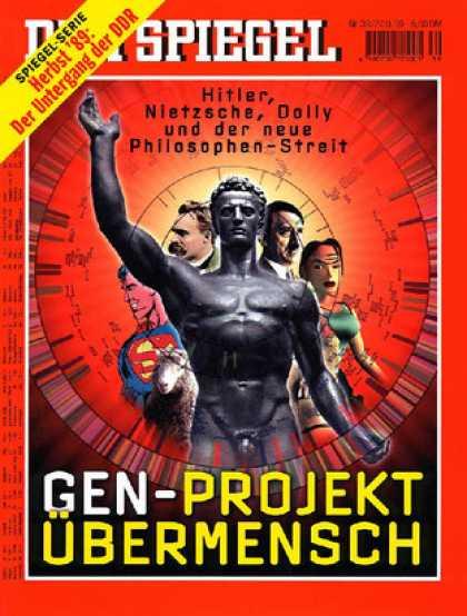 Spiegel - Der SPIEGEL 39/1999 -- Philosophenstreit über die Menschenzucht