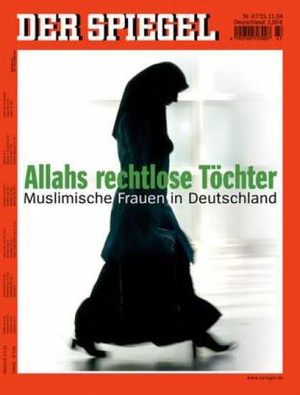 Spiegel - Der SPIEGEL 47/2004 -- Frauenrechtlerin Alice Schwarzer über den schwierigen