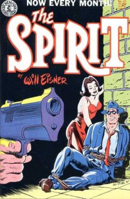 Spirit 12 - Kitchen Sink Comics - Will Eisner - Red Dress - Gun Barrel - Blue Jacket - Darwyn Cooke, Will Eisner