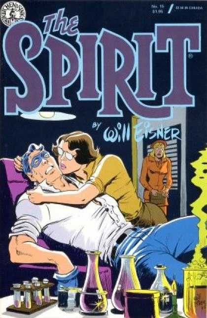 Spirit 15 - Man - Woman - Will Fisher - Chair - Smoke - Dave Stewart, Will Eisner