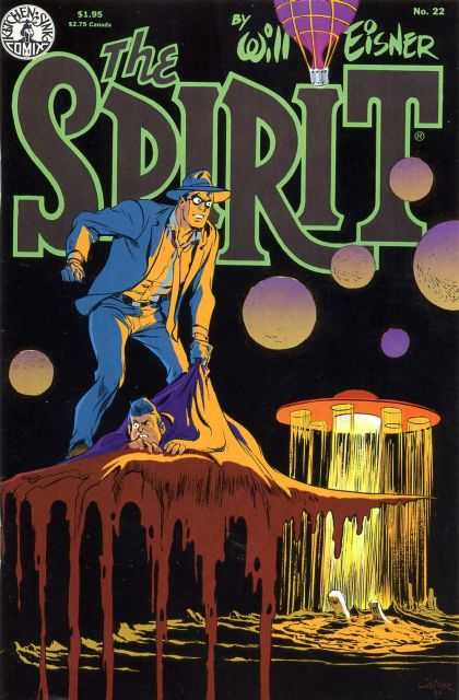 Spirit 22 - Will Eisner - Ketchen Sink Comix - Ufo - Men - Battle - Bruce Timm, Will Eisner