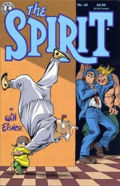 Spirit 42 - Will Eisner - Pipe - No 42 - Checkered Floor - Blonde Barbarian - Will Eisner