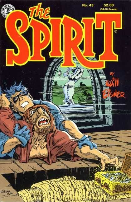 Spirit 43 - Mummy - Ghost - Diamonds - Fight - Two Men - Will Eisner
