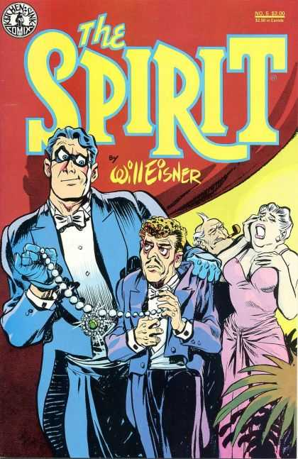 Spirit 5 - Will Eisner - Thief - Pearl Necklace - Sobbing Woman - Tuxedo - Darwyn Cooke, Will Eisner