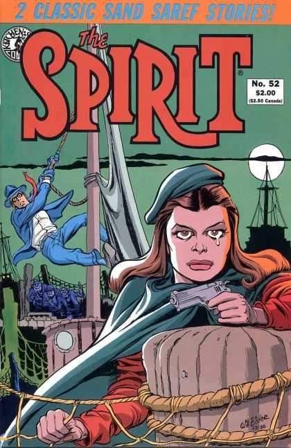 Spirit 52 - Cap - Rope - Classic Sand Saref Stories - Gun - No52 - Will Eisner
